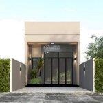 Bán nhà riêng 81m2, 2 phòng ngủ tại phường 5, tp mỹ tho. nhà đẹp, mới xây