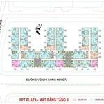 Chung cư fpt plaza 48m2 1 phòng ngủview hồ bơi, giá tốt.