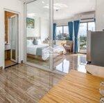 Cho thuê căn hộ 1 phòng ngủđẹpmặt tiềnan thượng 21 giá rẻ