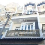 Bán Nhà 1 Trệt 3 Lầu (4X16M) Giá Bán 4.45 Tỷ. Hẻm 5M Đường Nguyễn Anh Thủ , P. Tmt, Q12 Liên Hệ: 0933805479