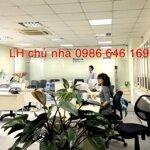 82 và 95m2 cho thuê tại nhà VP 9 tầng số 11 Thái Hà. Giá 17 triệu/tháng. LH trực tiếp chủ nhà 0986646169