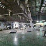 Nhà xưởng cho thuê khu vực tân định bến cát. dt 2700m2. điện 3 pha. có sẵn chủ trương gỗ, nhựa