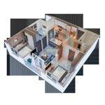 Chính chủ bán căn góc 77m2 chung cư ecohome 3, giá bán 1,5 tỷ, 3 phòng ngủ liên hệ: 0962251630