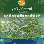 Đất River Silk City sông xanh CEO2 2 lô liền kề