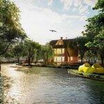 Căn đẹp biệt thự làng hà lan ecopark - hồ đông nam vườn rộng - lh 0918114743