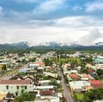 đất mặt tiền chợ thị trấn, 120m2 sổ đỏ lâu dài chỉ từ 780 triệu/lô
