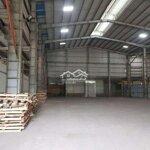Kho xưởng 1200m2 kcn hòa khánh giá bán 60 triệu đã có vat