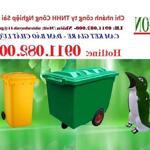 Cần bán thùng rác 240 lít giá rẻ tại hậu giang- thùng rác 2 ngăn, 3 ngăn giá tốt- lh 0911082000