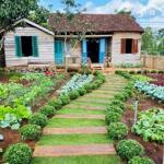 Nhà vườn đẹp eatu. sau lưng chợ đầu mối tân hoà.