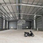 Cho thuê xưởng 1.200m đã xây dựng sẵn và có gpkd