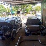 Sang garage ôtô mặt bằ ql14,trung tâm huyện đa