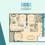 Duplex haven park khu đô thị ecopark 120m² 3 phòng ngủ2wc
