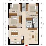 Cho thuê căn chung cư green river_ 9 triệu / tháng