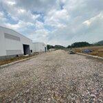 Cho thuê nhà xưởng mới, giá rẻ gần hà nội, 20k/m2/