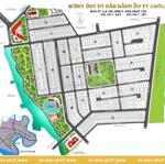 Bán Đất Biệt Thự Kdc Thủ Thiêm Villa - Nền Đất View Sông Sài Gòn
