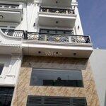 Nhà mới 4*14.5m, 5 tầng, hẻm 5m khu tô hiệu