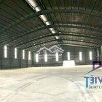 Nhà xưởng icd long bình 3600m²