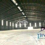 Cho thuê nhà xưởng 3600 m2 khu tân cảng long bình