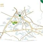 đất nền biệt thự nằm trong sân goft - bh new city
