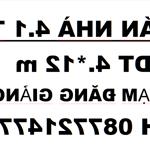 Nhà Phạm Đăng Giảng,4*12 M ., Nội Thất Đủ, Giá Rẻ Chỉ 4,2 Tỷ Có Thương Lượng Ly Angia