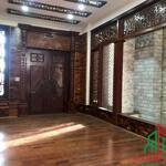Nhà 5 tầng (có tầng hầm + thang máy) đường phan chu trinh, dt: 5x26m - nội thất gỗ cao cấp