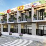 Chỉ cần 500tr bạn đã có thể sở hữu căn nhà shophouse hiện đại tọa lạc ngay mặt tiền ql1a