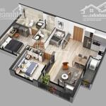 Cần bán căn 2 phòng ngủ 2 wc toà sky oasis s1.2x05a, hướng đn, kđt ecopark