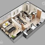 Chính chủ cần bán căn hộ 1 phòng ngủ toà sky oasis s2 dt 36m2, kđt ecopark