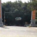 đất kinh doanh cách cổng đá lối vào đền hùng 300m.