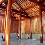 Nhà gỗ 3 gian cao 14 thước 5 gỗ dỗi sến chò