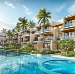 Ra mắt phân khu nghỉ dưỡng the song với 38 căn nhà phố, sở hữu khuôn viên hồ bơi 2000m2 riêng biệt.