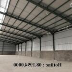 Cần cho thuê kho xưởng pccc tại kv ecopark - văn giang - hưng yên. dt: 500 - 1000m2