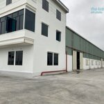 Cho thuê nhà xưởng 1800m2 tại thạch khôi gia lộc hải dương