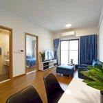 Cho thuê căn hộ 58m2 (2 phòng ngủ, 1 wc), full nội thất, chỉ cần xách vàng vào ở