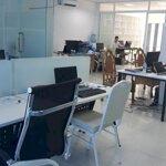 Cho thuê văn phòng view đẹp mặt tiền lớn 65m2 đường cmt8 q3.