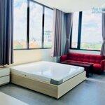Căn hộ 1 phòng ngủ40m2 cửa kính đón sáng, full nội thất hiện đại tại thảo điền