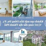 Bán Khách Sạn Luxury Mặt Tiền Đống Đa, P3, Đà Lạt. Vị Trí Vàng Đắc Địa