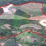 5.5ha đất nghỉ dưỡng hiếm, cực đẹp, có hồ, suối, đất đồi, đất sình, có nguồn thu