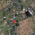 đất tỉnh lộ 17 hai mặt tiền, 191.3m2. gần ngã tư 1