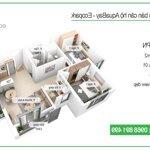 Cần cho thuê căn hộ 58m2 aquabay full đồ đẹp giá dẻ 7.5 triệu/tháng - lh lâm 0979.458.312