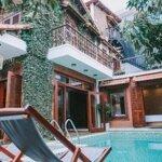 Biệt thự 3 phòng ngủsân vườn và hồ bơi khuê mỹ - b738