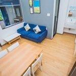 Cho thuê căn hộ 2 phòng ngủriêng, 60m2 full nội thất cao cấp khu an thương gần đhkt