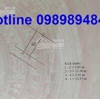 Bán 50m2 đất TĐC Trâu Quỳ, Gia Lâm, Hà Nội Mặt tiền 4m Đường 12m có vỉa hè LH: 0362277777