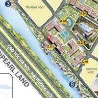 Chính chủ cho thuê căn góc 2 mặt tiền view sông và Vinpearl Land tòa S203 LH: 0856256222