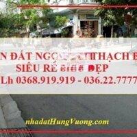 Bán đất Ngọc Trì Thạch Bàn Long Biên 50m2 cực đẹp LH 0368919919