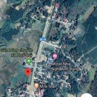 Bán đất mặt đường Hồ Chí Minh, xã Hóa Quỳ, huyện Như Xuân, Thanh Hóa LH: 0989445666