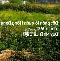 Đất khu phân lô quận Hồng Bàng 1 lô chỉ từ 590tr LH: 0966758720