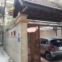 Cho thuê nhà 4 tầng phố Trần Khất Chân 84m2 có sân để ô tô LH: 0987861521