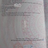 Cần bán 01 lô giáp Đà Lạt gần khu du lịch thác Pren 7x30m, 100m2 đất ở LH: 0398649575