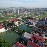 Bán đất Quang Châu dãy hàng cây đường liên xã nhìn sang tòa chung cư LH: 0967250288
